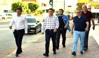 MEHMET ÖZTÜRK - Başkan Tütüncü'den Esnaf Ziyaretleri