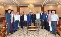 HÜSEYIN AKSOY - Başkan Üzülmez'den Vali Aksoy'a Ziyaret