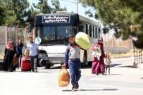 AZEZ - Bayram İçin Ülkelerine Giden Suriyelilerden Yaklaşık 51 Bini Türkiye'ye Döndü