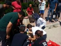 ATAKENT - Bilecik'te Otomobil İle Motosiklet Çarpıştı; 1 Yaralı