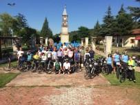 ŞEYH EDEBALI - Bisikletli Gruptan Bilecik Ziyareti