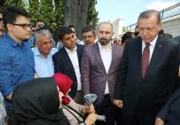 TEVFIK GÖKSU - Cumhurbaşkanı Erdoğan, 15 Temmuz Şehitliği'nde