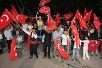 AHMET KAYA - Elazığ'da Demokrasi Nöbeti Tutulmaya Başlandı