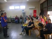 AFET BİLİNCİ - Fatih Mahallesi Muhtarlığında AFAD Eğitimi