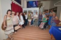 RESIM SERGISI - Foça'da Engelli Vatandaşlar Yararına Resim Sergisi