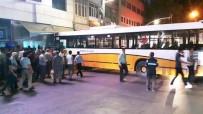 KUYUMCU DÜKKANI - Freni Boşalan Otobüs Dükkana Çarptı