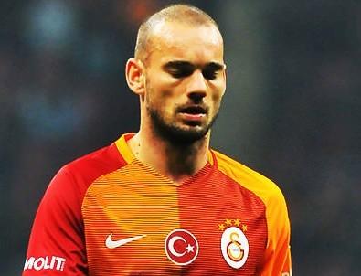 Galatasaray yönetiminden ilginç Sneijder yorumu