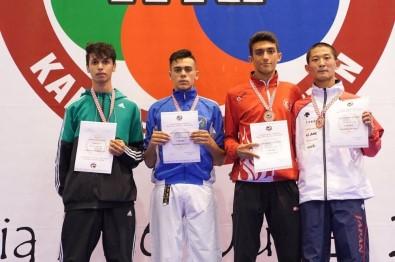 Gaziantepli sporcu dünya üçüncüsü oldu