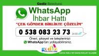 MEHMED ALI SARAOĞLU - Gediz Belediyesi Whatsapp İhbar Hattı Kurdu