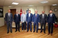 İL BAŞKANLARI - Genel Sekreter Bayram, İl Başkanlarını Konuk Etti