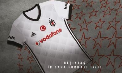 İşte Beşiktaş'ın 3 yıldızlı yeni sezon forması