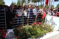 ALPASLAN KAVAKLIOĞLU - Kahraman Şehit Ömer Halisdemir'in Mezarına Ziyaret