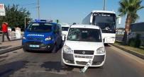 BEYİN KANAMASI - Rus Turist Kazada Yaralandı