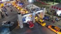 TAKSİ DURAĞI - Taksicilerden '15 Temmuz' Konvoyu