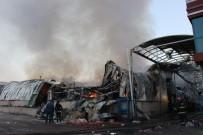 İŞ MAKİNESİ - Yangın Bu Hale Getirdi
