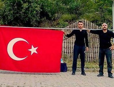 15 Temmuz gazisi polis felç riskine rağmen Ankara'ya yürü