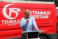 ŞEHİT ÜSTEĞMEN - 15 Temmuz'u Fotoğraflarla Anlatan Sergi Çekmeköy'de Açıldı