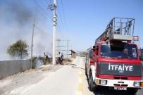 YEŞILDERE - Antalya'da Ot Çalı Yangını Korkuttu