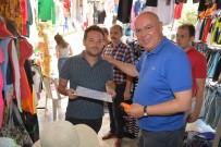 FAST FOOD - Başkan Eşkinat Yeni Açılan İş Yerlerinin Ruhsatlarını Bizzat Teslim Etti