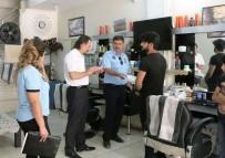 İPEKYOLU - Başkan Koç'tan Korsan Kuaför Salonlarına Denetim
