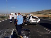 BAĞLUM - Başkent'te Kontrolden Çıkan Otomobil Takla Attı Açıklaması 1 Yaralı