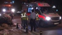 ANKARA ÜNIVERSITESI - Başkent'te Yol Kenarında Kağıt Toplayan Genç, Otomobilin Altında Kaldı
