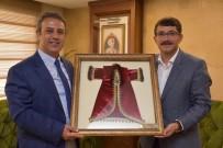 FARUK ÇELİK - Başsavcı Şimşek'ten Başkan Çelik'e Veda Ziyareti