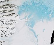 BUZ KÜTLESİ - Bilim Adamları Açıkladı Açıklaması En Büyüğü Antarktika'dan Koptu
