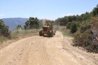 KARLA MÜCADELE - Büyükşehir Yol Ekipleri Çalışmalarını Kuyucak'ta Sürdürüyor