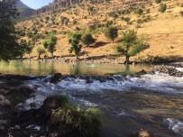 İŞ MAKİNESİ - Çocukların Boğulmaması İçin Çaya Havuz Yaptılar