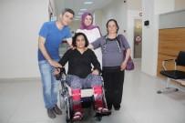 AKÜLÜ ARABA - Edremit Kaymakamlığından Engelli Vatandaşa Akülü Sandalye