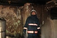MEDINE - Ekmeklikte Çıkan Yangında 2 Kadın Hastanelik Oldu
