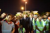 ANKARA BÜYÜKŞEHİR BELEDİYESİ - Erdoğan, 15 Temmuz Anıtı'nı İnceledi