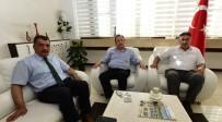 SELAHATTIN GÜRKAN - Eski Vekil Başkurt'tan Başkan Gürkan'a Ziyaret