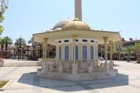 ÇARıKLAR - Germencik Kent Meydanı'nda Yapımı Tamamlanan Şadırvan Göz Kamaştırıyor