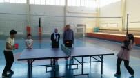 İMAM HATİP ORTAOKULU - Hisarcık'ta Kur'an Kursu Öğrencileri Arası Masa Tenisi Turnuvası