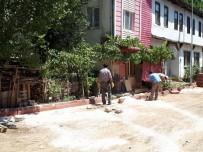 VEZIRHAN - İstasyon Mahallesi'nde Alt Yapı Çalışmaları