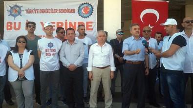 İzmir'de deniz ulaşımı durdu