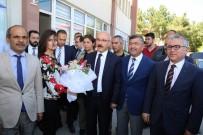 ALPASLAN KAVAKLIOĞLU - Kalkınma Bakanı Lütfi Elvan Başkan Akdoğan'ı Ziyaret Etti
