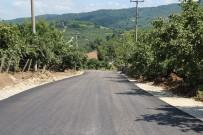 KURUDERE - Karasu'da Asfalt Çalışmaları Devam Ediyor