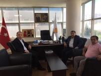 İLYAS ŞEKER - Kocaeli Milletvekili Şeker'den İl Başkanı Karabıyık'a Ziyaret