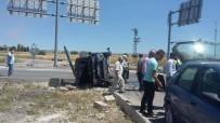 DİKKATSİZLİK - Kütahya'da Trafik Kazası Açıklaması 4 Yaralı