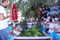 HALKALı - Öğrenciler 15 Temmuz Şehitlerini Unutmadı