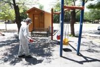 EKOLOJIK - Parklarda Dezenfekte Çalışması