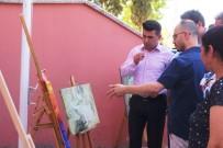 RESIM SERGISI - Sarıgöl'de 15 Temmuz Dijital Sanat Ve Resim Sergisi