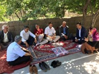 MÜFTÜ VEKİLİ - Tatvan'da Şehit Ailelerine Ziyaret