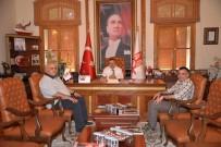 TEKSTİL FABRİKASI - Tekstilciler Başkan Yağcı'yla Bir Araya Geldi