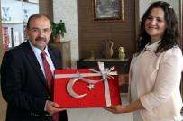 DEMOKRAT PARTI - Vali İsmail Ustaoğlu'na Ziyaretler Devam Ediyor