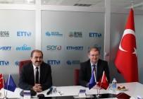 KAPALI ALAN - AB Türkiye Delegasyonu Başkanı Ve Büyükelçi Christian Berger, Erciyes Teknopark'ı Ziyaret Etti