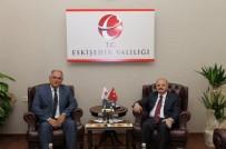 Ak Parti Mahmudiye Teşkilatından Vali Çakacak'a Ziyaret